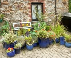 Potted Gardens How to potted flower gardens workwithnaturefo
